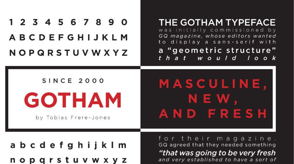 Gotham Font 1024x574 - Gotham Font Family Free Download