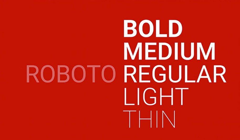 Roboto Font Free