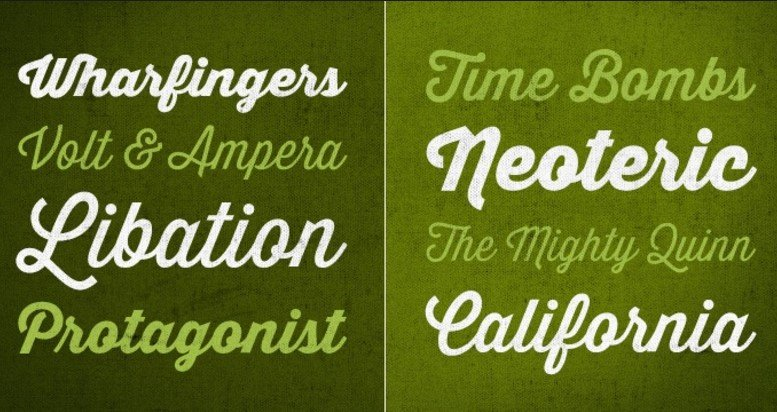 Thirsty Script Font Family