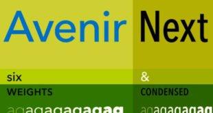 Avenir Next Font 310x165 - Avenir Next Font Free Download