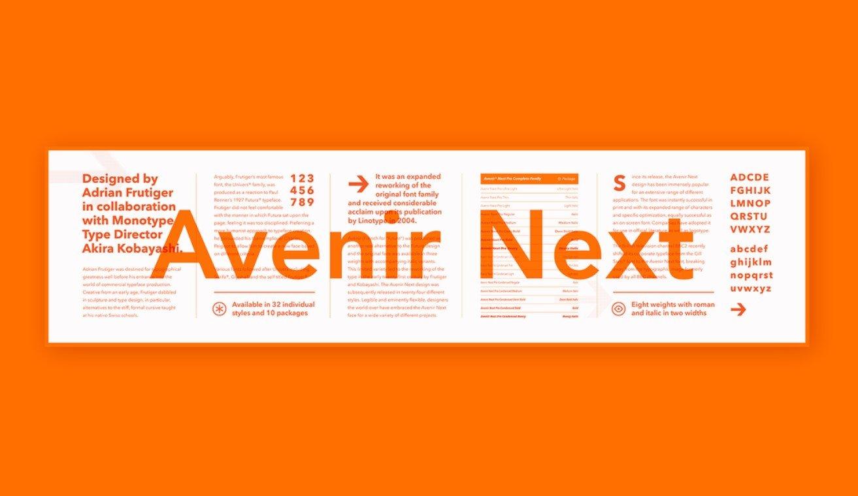 avenir next font free download ttf