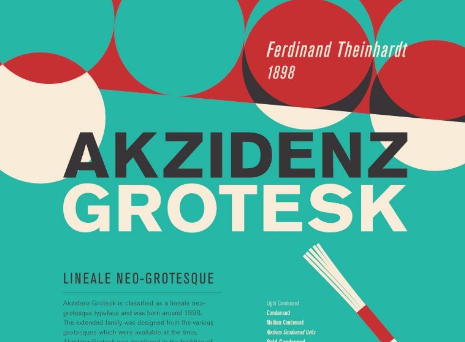 Akzidenz Grotesk Font - Akzidenz Grotesk Font Free Download