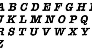 American Typewriter Regular Font 310x165 - American Typewriter Regular Font Free Download