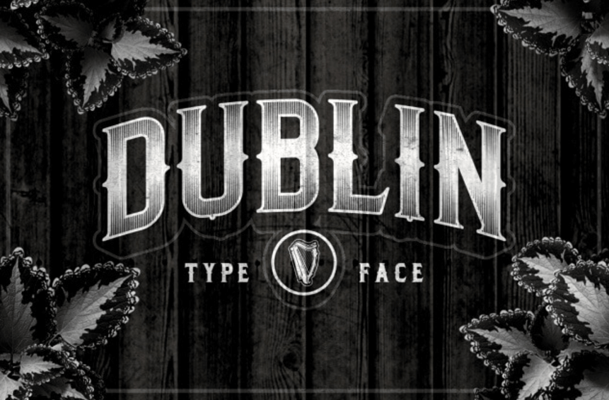 Dublin Typeface Font
