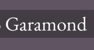Garamond Font 310x165 - Garamond Font Family Free Download