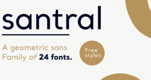 Santral Font 1 310x165 - Santral Font Family Free Download