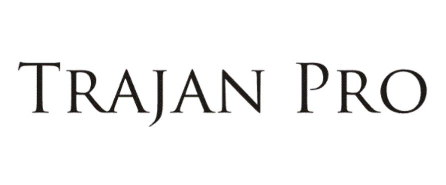 Trajan Pro Regular Font