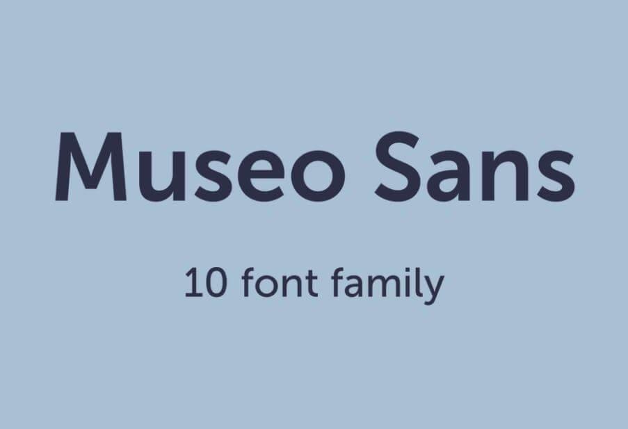 museo sans font - Museo Sans Font Free Download