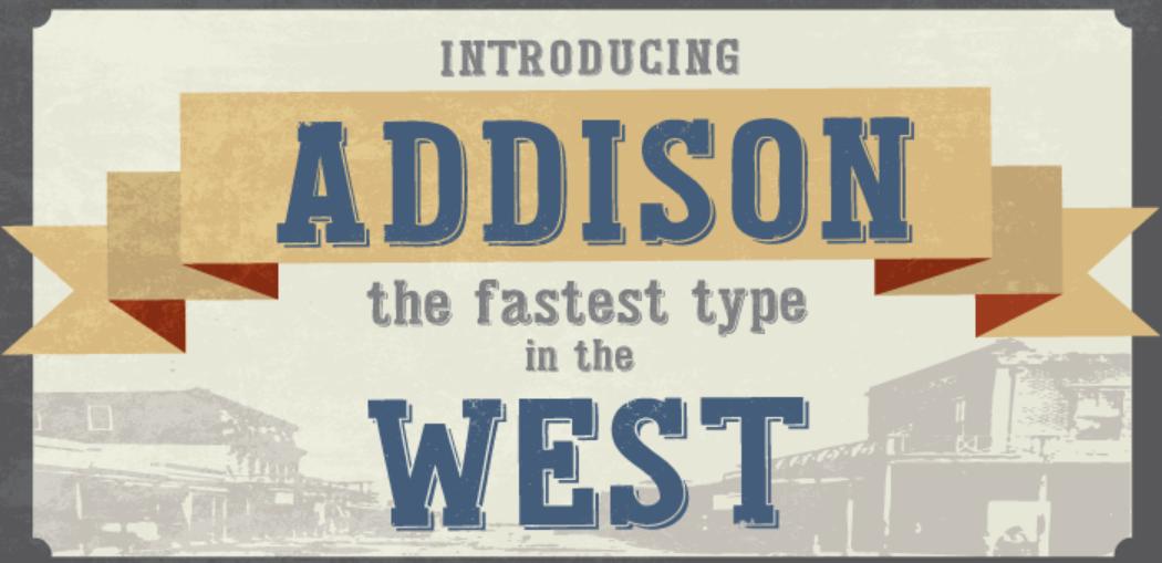 Addison Font