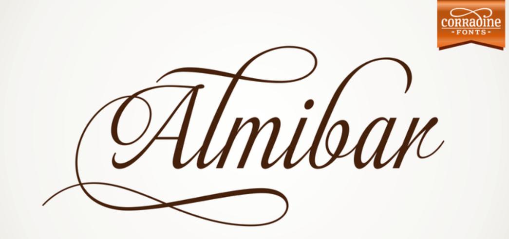 Almibar Font