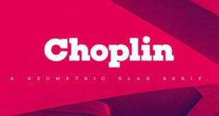 Choplin Font 310x165 - Choplin Font Free Download