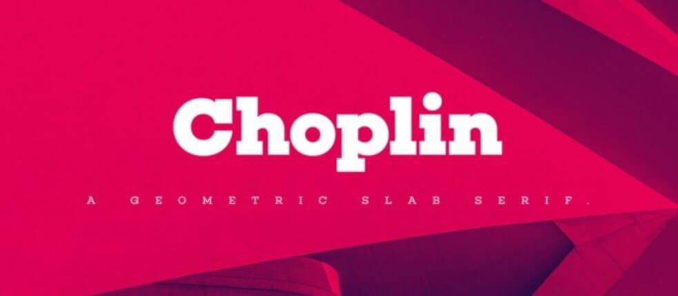 Choplin Font