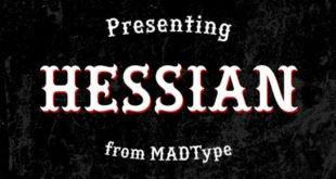 Hessian Font 310x165 - Hessian Font Free Download