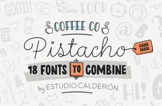 Pistachio Sans Font