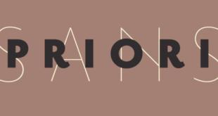 Priori Sans Font 310x165 - Priori Serif Font Family Free Download