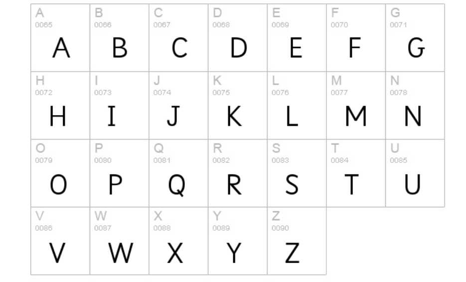 Sassoon Infant Std Font