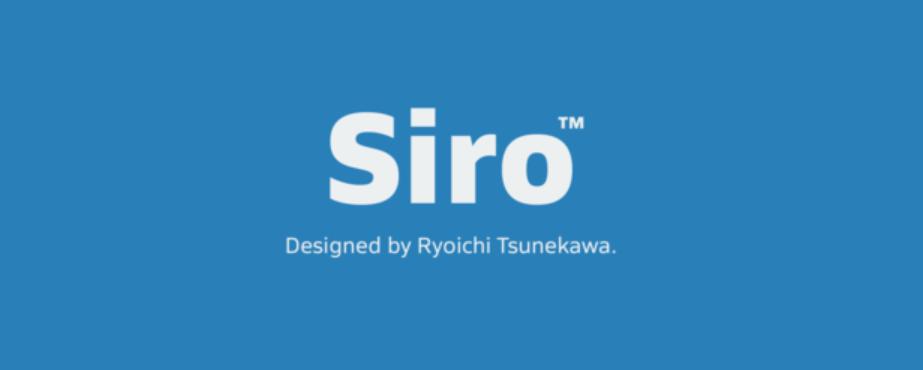 Siro Font