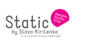 Static Font 310x165 - Static Font Family Free Download
