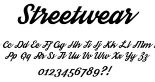 Streetwear Font 1 310x165 - Streetwear Font Free Download