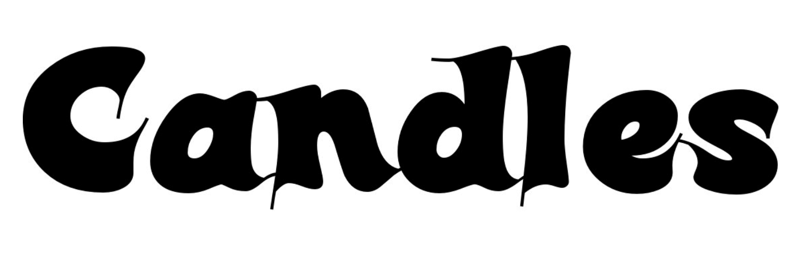 Candles Font