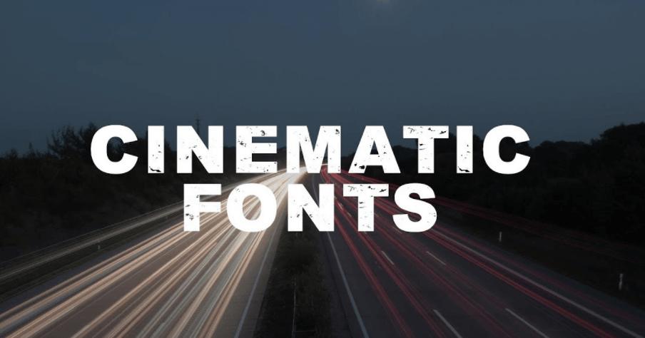 Cinematic Language Font