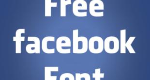 Facebook Letters Font 310x165 - Facebook Letter Faces Free Download