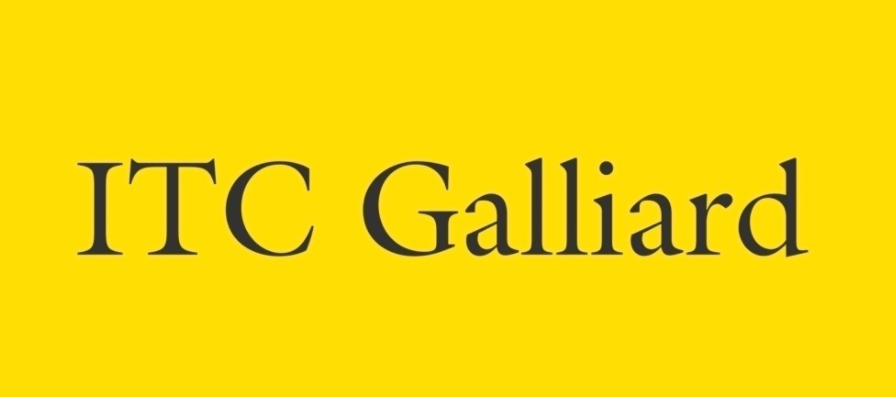 ITC Galliard Roman Font