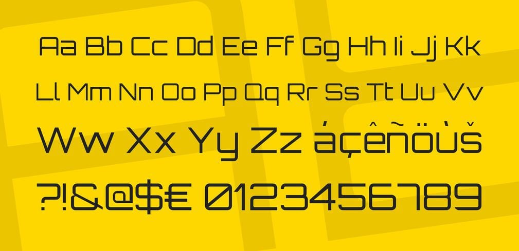 Bank Gothic Font