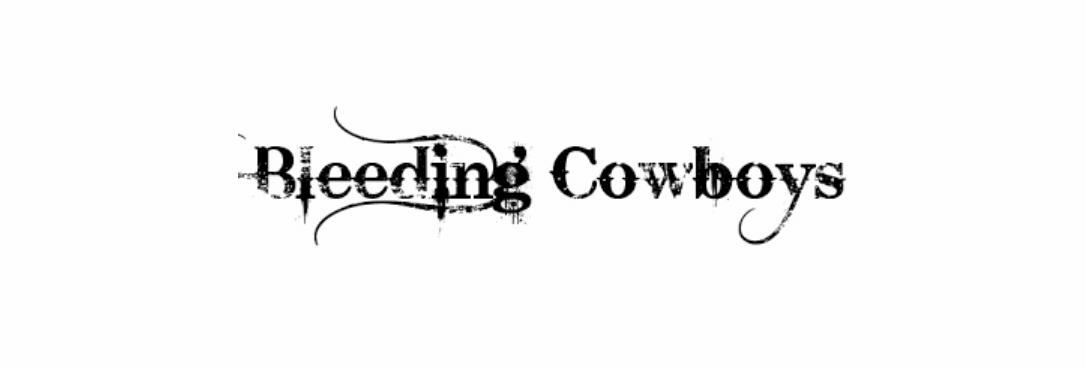 Bleeding Cowboys Font