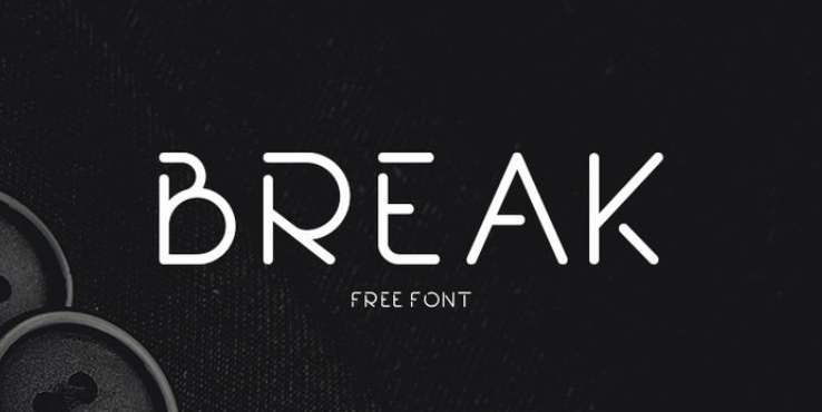 Break Font