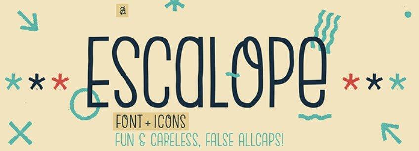 Escalope Typeface
