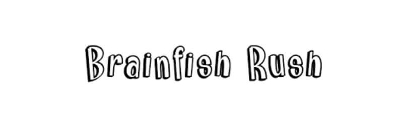 Brainfish Rush Font