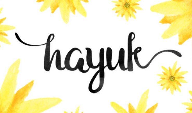 Hayuk Script Font