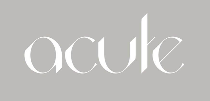 Acute Font