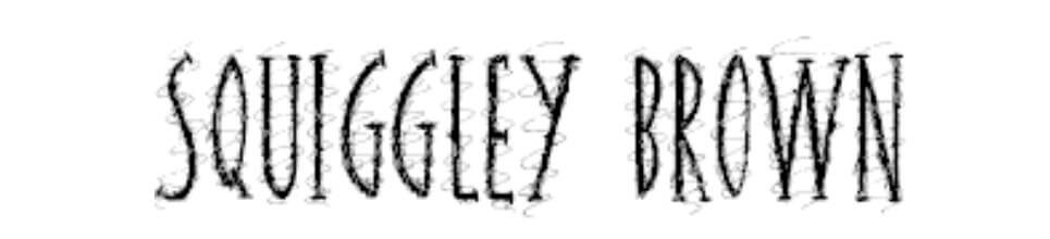 Squiggley Doo Regular Font