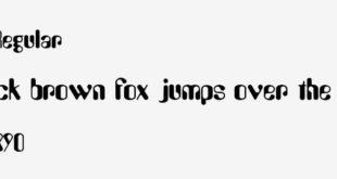 Amelia Regular Font 310x165 - Amelia Regular Font Free Download
