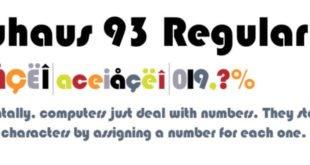 Bauhaus 93 Regular Font 310x165 - Bauhaus 93 Regular Font Free Download