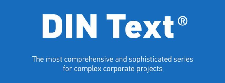 Din Text Compressed Pro Font