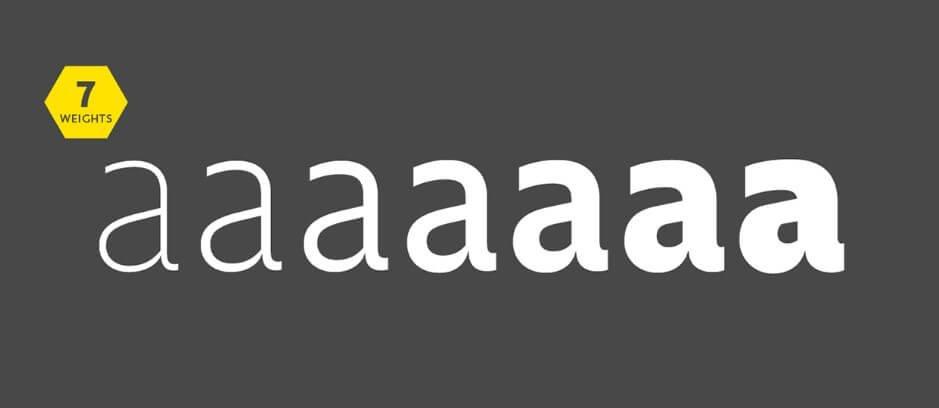 Golden Sans Typeface