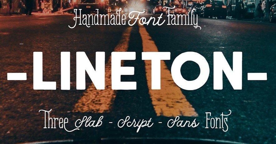 Lineton Font
