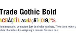Trade Gothic Bold Font 310x165 - Trade Gothic Bold Font Free Download