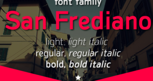 San Frediano Font Family 310x165 - San Frediano Font Family Free Download
