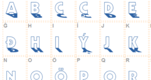 Backlit Font 310x165 - Backlit Font Free Download