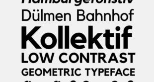 Kollektif Typeface Font 310x165 - Kollektif Typeface Font Free Download