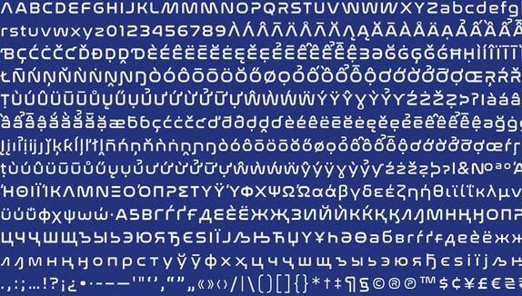 Nasa Font Family - Nasa Font Free Download