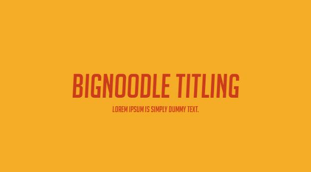 bignoodle-titling-font