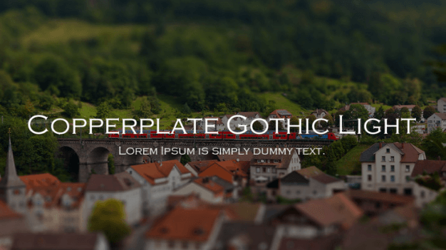 copperplate-gothic-font