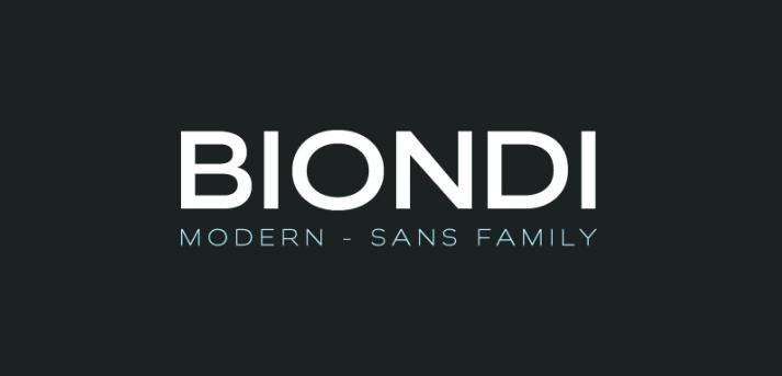 Biondi-font