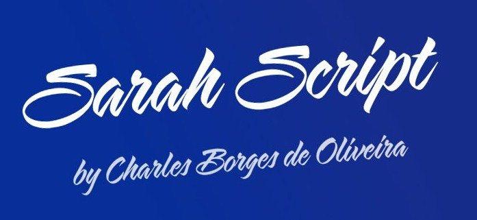 Sarah Script Font