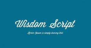 Wisdom Font